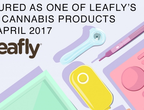 Featured as One of Leafly's Best Cannabis Products  for April 2017